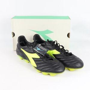 Vtg New Diadora Mens 11.5 K Leather Soccer Shoes